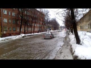 Весна пришла!))Дороги Калуги
